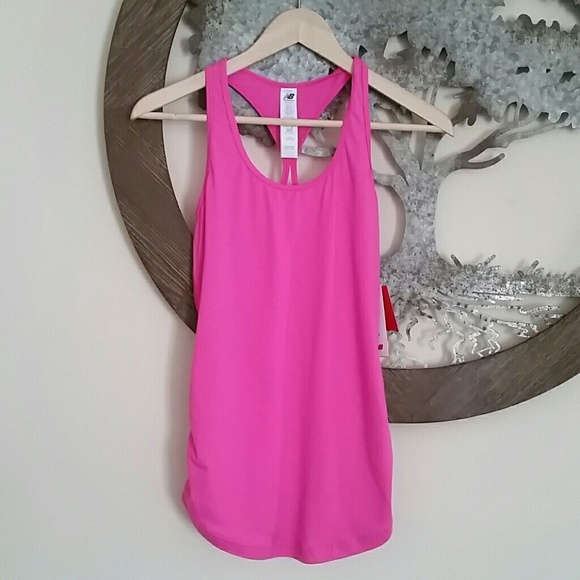 new balance pink top